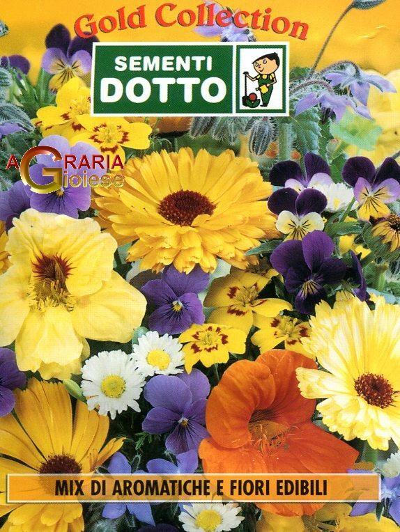 Semi mix di aromatiche e fiori edibili for Fiori edibili