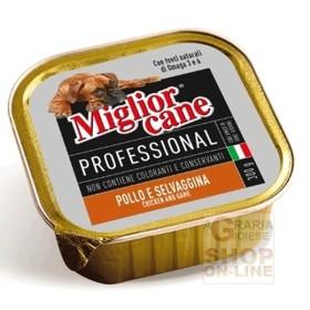 MIGLIORCANE PROFESSIONAL CON POLLO E SELVAGGINA GR. 300
