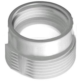 RIDUZIONE IN PLASTICA PER SIFONE LAVELLO M11/2 F1 1/4 POLL.
