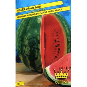 SEMI DI ANGURIA CRIMSON TONDA SWEET WATERMELON WASSERMELOLE
