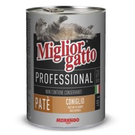 MIGLIORGATTO PATE PROFESSIONAL RABBIT GR.400