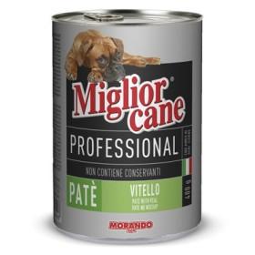 MIGLIORGATTO PROFESSIONAL PATE CON VITELLO GR. 400