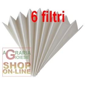 FILTRO DI CARTA PER IL VINO PIEGHETTATO DI 40 CM. 100 (conf. 6