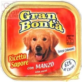 GRAN BONTA PATE PER CANI CON MANZO GR. 150