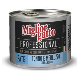 MIGLIORGATTO PATE PROFESSIONAL TUNA, COD-GR.200
