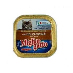 MIGLIORGATTO PROFESSIONAL CON SELVAGGINA GR. 100