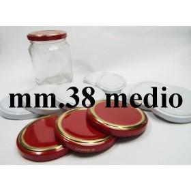 CAP 38 MEDIUM FOR GLASS JARS