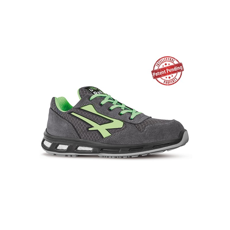 UPOWER SCARPE ANTINFORTUNISTICA BASSE POINT S1P SRC CON PUNTALE IN ALLUMINIO TG. 35 AL 48