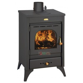 WOOD-BURNING STOVE, COAL-TO-STEEL, HIGH-THICKNESS MODEL KIR9/12KW