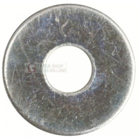 RONDELLE GREMBIALINE ZINCATE UNI 6593 MM. 12x48