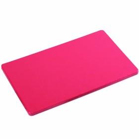 Tagliere il polietilene per cucina Kesper HACCP colore rosso cm. 53x32,5