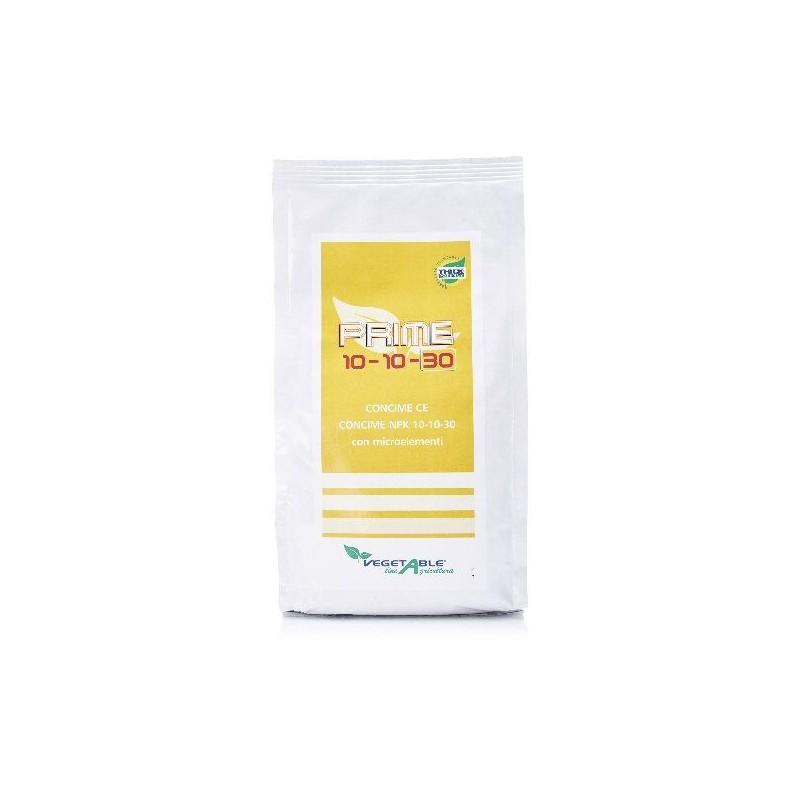 VEGETABLE PRIME CONCIME FOGLIARE CON MICROELEMENTI NPK 10.10.30 KG. 1,5
