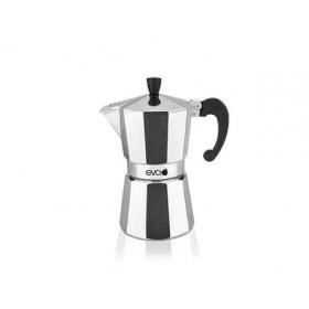 Macchina del caffè caffettiera moka eva in alluminio 170G 1 Tazza