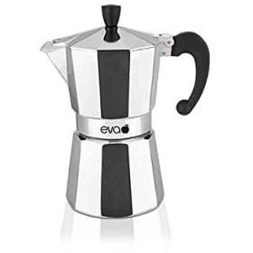 Macchina del caffè caffettiera moka eva in alluminio 280G 3 Tazze