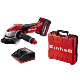 Einhell Smerigliatrice angolare a batteria litio 18v 3ah TE-AG 18/115