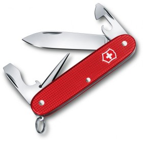 VICTORINOX MULTIUSO PIONEER MM. 93 GUANCE ALOX STEEL ROSSO LIMITED EDITION 2018