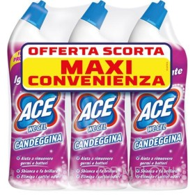 ACE WC GEL CON CANDEGGINA FRESCO PROFUMO 700 ML PEZZI 3