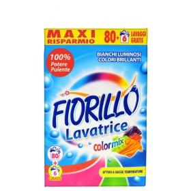 FIORILLO DETERSIVO BUCATO IN LAVATRICE COLORMIX 86 MISURINI KG. 6