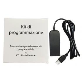 KIT DI PROGRAMMAZIONE PER TELOCOMANDO PROGRAMMABILE MOD. TECHNO 3