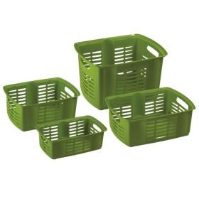 MAZZEI Hobby Basket 4 Cestino Sovrapponibile cm. 42x32x25,5h.