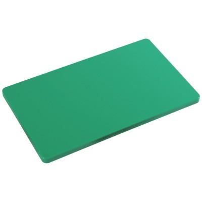 Tagliere il polietilene per cucina Kesper HACCP colore verde cm. 53x32,5