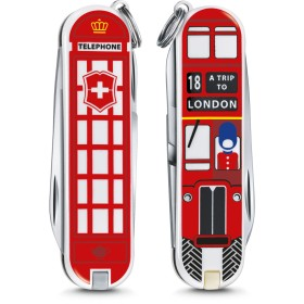 VICTORINOX CLASSIC LIMITED EDITION A TRIP TO LONDON ART.