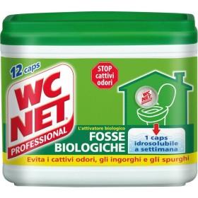 WC NET FOSSE BIOLOGICHE 12 BUSTINE MONODOSE PER PER CATTIVI ODORI