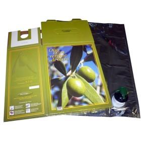 BAG IN BOX OLIO COMPRESO DI SACCA LT. 5