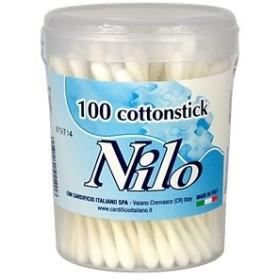 NILO COTTON STICK BIODEGRADABILE 100 PZ COTTON FIOC