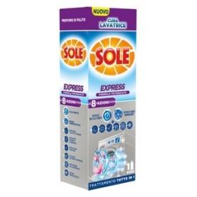 SOLE CURA LAVATRICE EXPRESS 8 AZIONI LIQUIDO 250 ML