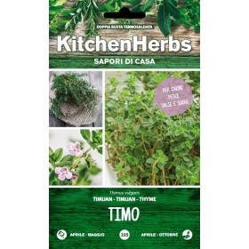 KITCHEN HERBS SEMI DI TIMO COMUNE