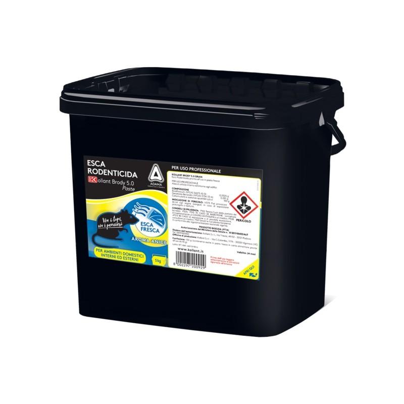 KOLLANT BRODY 5.0 Esca Topicida in Pasta kg. 5