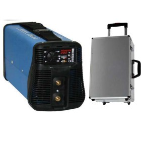 AWELCO SALDATRICE INVERTER MONSTER 205 IN VALIGIA CON TROLLEY