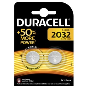 DURACELL BATTERIA A BOTTONE CR2032 PZ. 2
