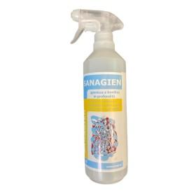 SANAGIEN Prnto uso spray igienizza e sanifica in profondità pronto uso contro funghi e batteri per la profilassi COVID-19 CORON