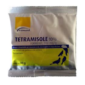 FORMEVET TETRAMISOLE 10% SOLUZIONE ORALE PER UCCELLI BUSTINA DA 30gr
