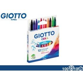 GIOTTO COLORI CERA 12PZ NEW 100/10