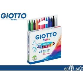 GIOTTO COLORI CERA 24PZ NEW 60/6