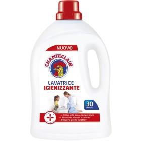 CHANTECLAIR DETERSIVO LIQUIDO BUCATO LAVATRICE IGIENIZZANTE 30 LAVAGGI ml. 1500