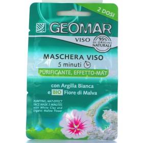 GEOMAR MASCHERA VISO 5 MINUTI PURIFICANTE 15 ML