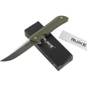 RUIKE RKE HUSSAR P121-G COLTELLO CHIUDIBILE CON MANICO VERDE CM. 21,5
