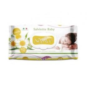 Soffice Salviettine Imbevute baby camomilla pz. 72