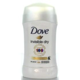 DOVE DEO STICK 30 ML.INVISIBLE DRY